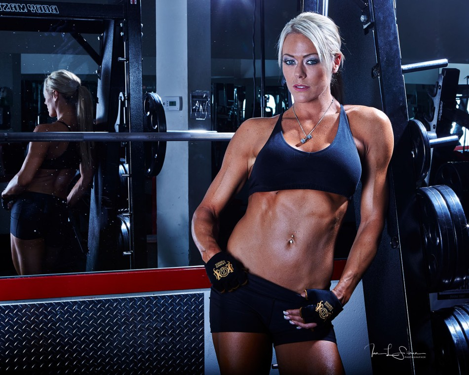 Natalie Lyle In The Gym